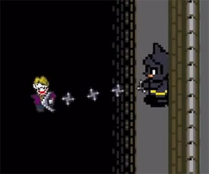 The Dark Knight Told in 8-Bit Cinema