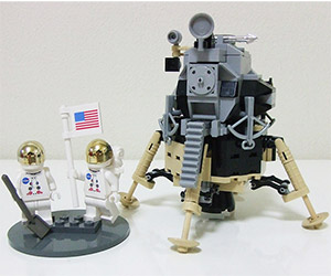 Support this Lego CUUSOO Apollo 11 Lunar Module