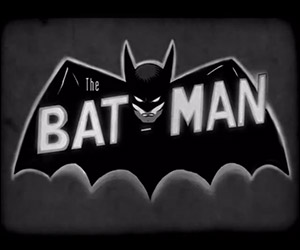 Vintage Teaser for Batman: Black and White