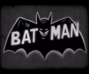 Vintage Teaser for Batman: Black and White