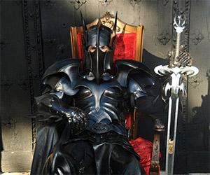 Medieval Batman Armor: The Dark Knight Indeed