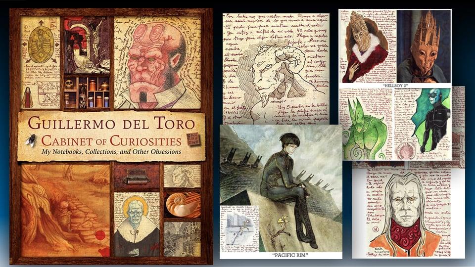 Guillermo del Toro Cabinet of Curiosities: Hardcover Book