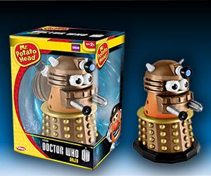 Awesome Doctor Who Gold Dalek Mr. Potato Head