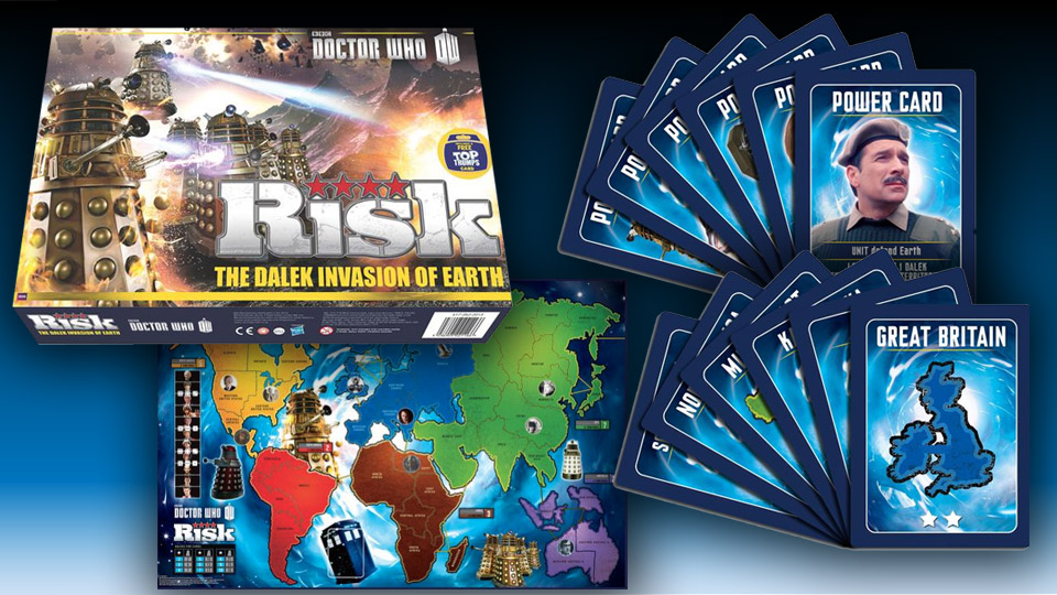 Doctor Who Themed Risk Board Game