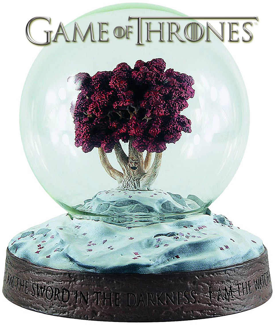 Game of Thrones Weirwood Snow Globe