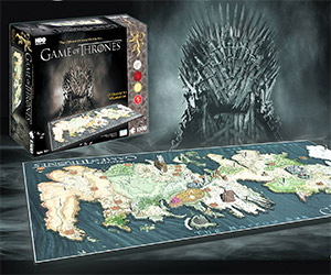 Crazy Game of Thrones Westeros 4D Puzzle