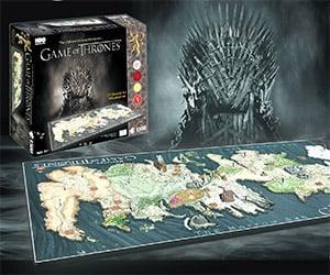 Crazy Game of Thrones Westeros 4D Puzzle
