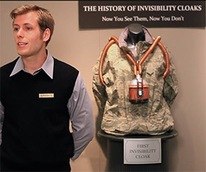 The History of Invisibility Cloaks