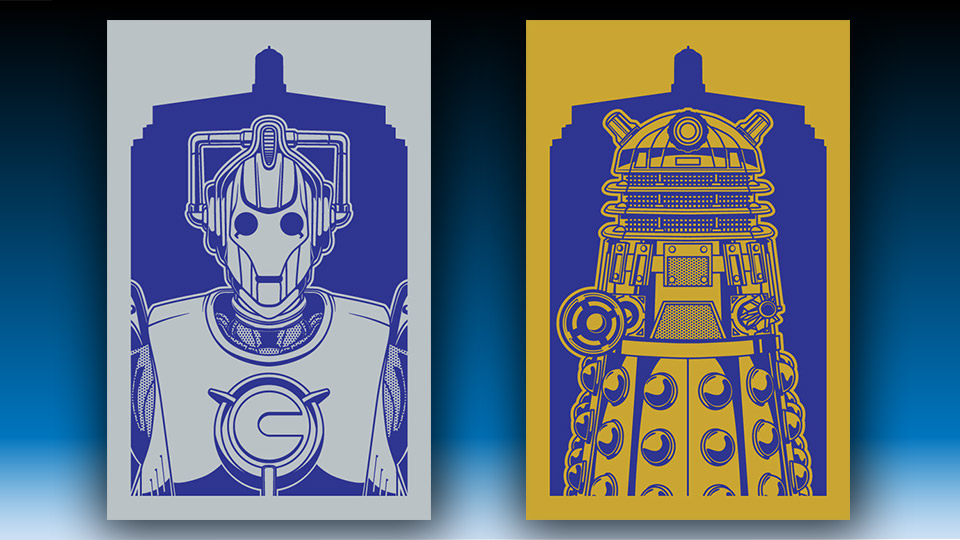 Forbidding Doctor Who Illustrations