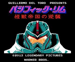 Pacific Rim 16-Bit Video Game Artwork