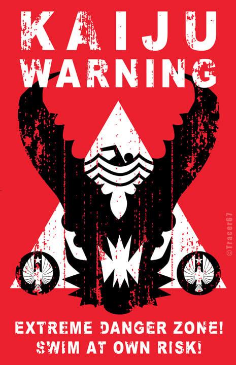 Pacific Rim Kaiju Poster Incredible Pacific Rim...