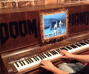 Man Plays the Classic Game Doom on a Piano