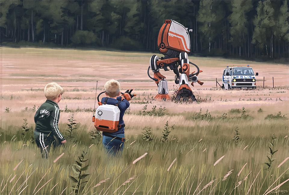 Amazing Digital Futuristic Landscape Paintings