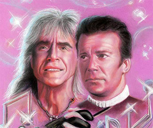 Bizarre 1980s Star Trek Chalk Illustrations