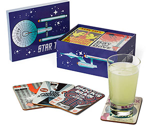 Star Trek: Juan Ortiz Drink Coasters