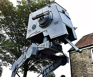 16 Foot Star Wars AT-ST Walker for Sale