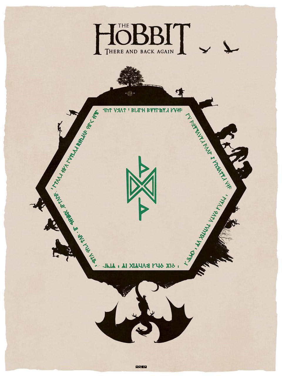 The Hobbit: Wonderful Fan Art Poster
