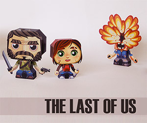 Try to Survive The Last of Us Papercraft
