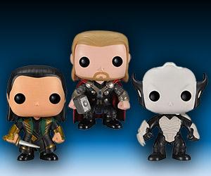 Funko Pop! Thor: The Dark World Bobbleheads