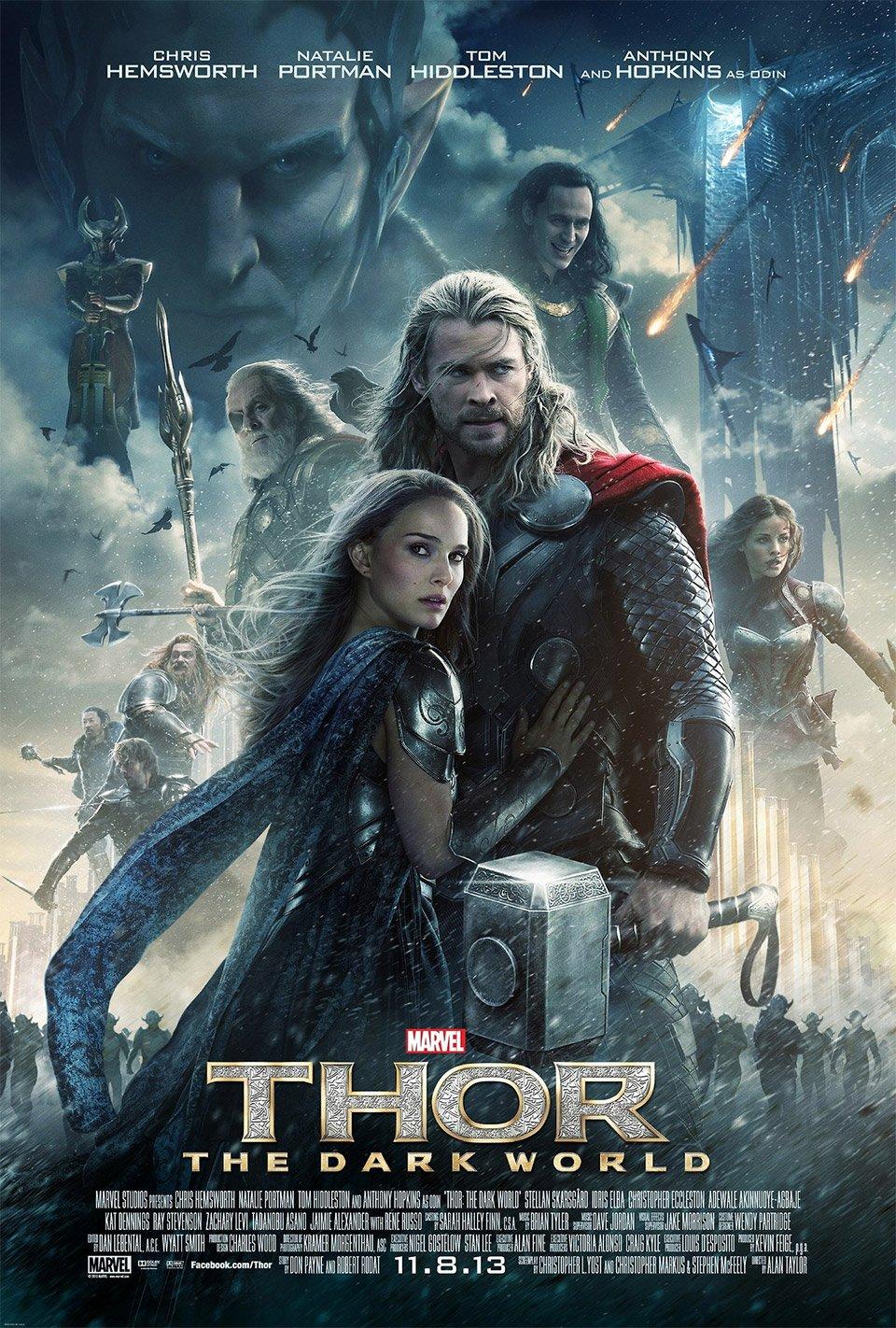 Thor: The Dark World Movie Posters