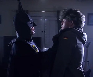 "Homemade Scene: Michael Keaton, ""I'm Batman"""