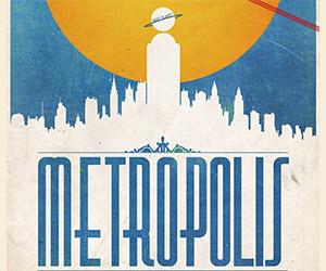 Stunning Gotham City and Metropolis Art