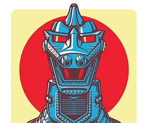 Awesome Set of Ultraman and Godzilla Kaiju Posters
