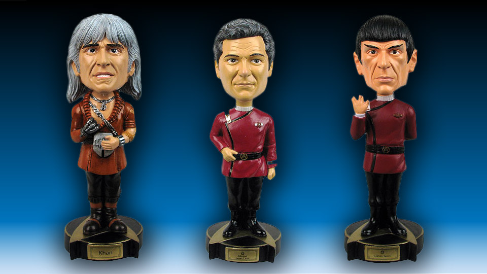Star Trek: The Wrath of Khan Bobble Heads