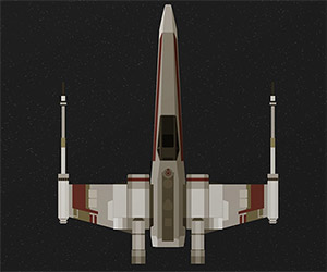 Star Wars TIE Fighter and X-Wing Prints