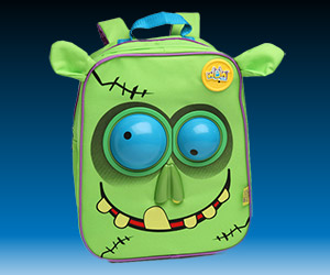 Funny Zombie Animated Backpack from ThinkGeek