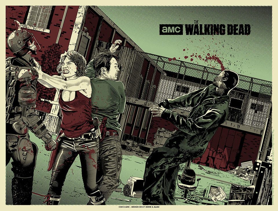 The Walking Dead: Fantastic Poster Gallery