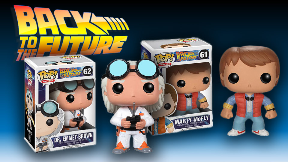 Back to the Future Pop! Vinyl Figures