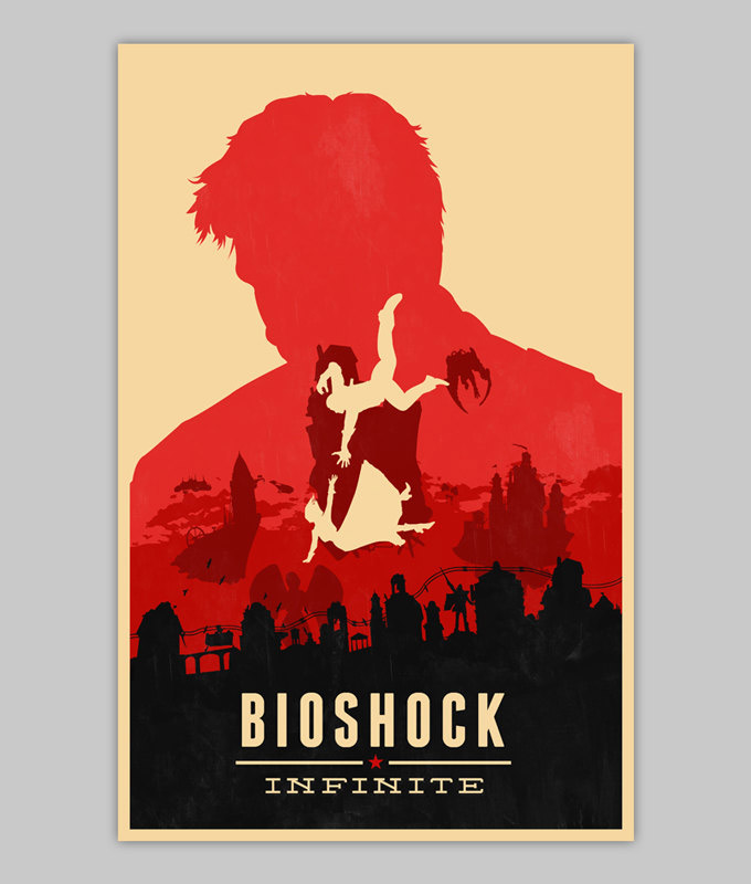 Bioshock Infinite Poster Collection - MightyMega