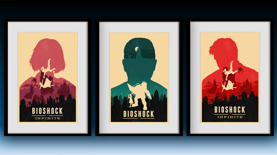 Bioshock Infinite Poster Collection