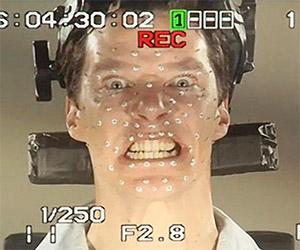 The Hobbit: Benedict Cumberbatch as Smaug
