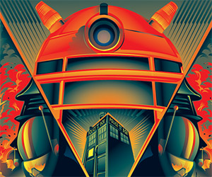 Daleks Invasion Earth: 2150 Movie Poster