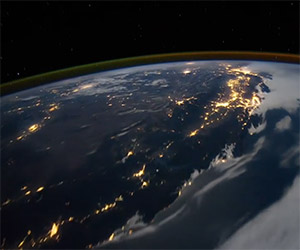 Breathtaking Time Lapse of Earth from Space