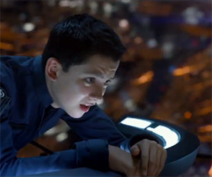 Ender's Game: Two New Asa Butterfield Clips