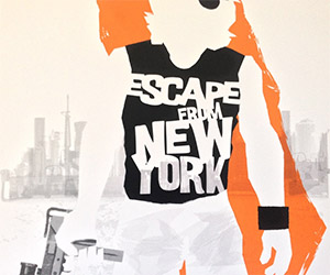 Limited Edition Escape from New York Print