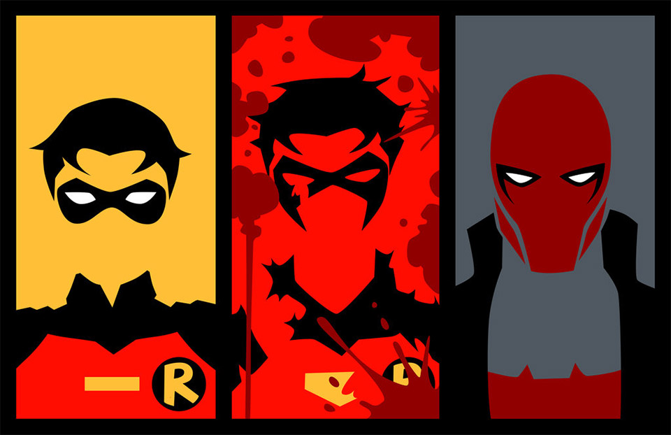 The Evolution of Robin: Dick Grayson and Jason Todd