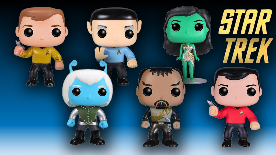 Funko Pop! Star Trek TOS Figures