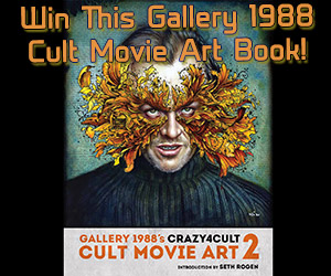 Crazy 4 Cult: Cult Movie Art 2 Book Giveaway!