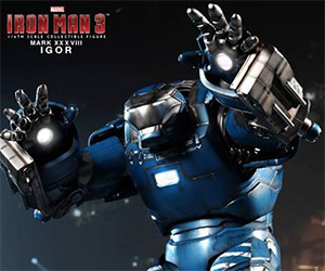 Iron Man 3 Mark XXXVIII Igor Armor Collectible