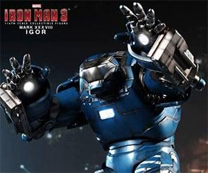 Iron Man 3 Mark XXXVIII Igor Armor Collectible