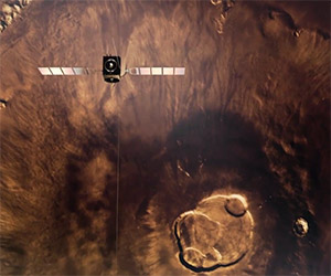 Awe Inspiring Flyover Video of the Planet Mars