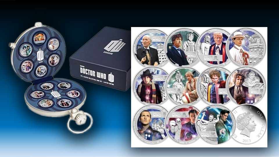 Doctor Who 50th Anniversary Coins