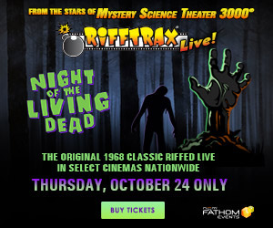 Night of the Living Dead: Spoofed Live on October 24