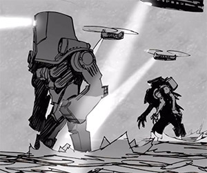 Pacific Rim Animatic: Exit the Shatterdome