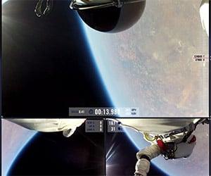 One Year Anniversary of Felix Baumgartner's Skydive