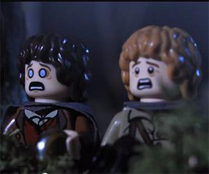 The Hobbit: A LEGO Halloween Prank